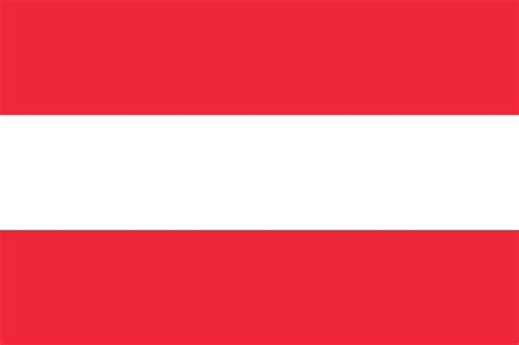 austria flag coloring country flags