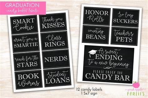 printable graduation labels graduation candy labels printable graduation party candy