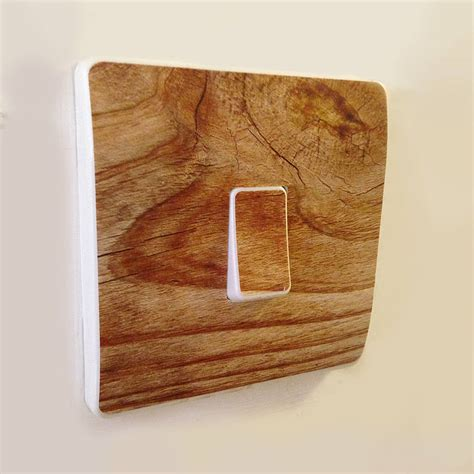 oak light switch covers wood effect light switch covers by oakdene designs