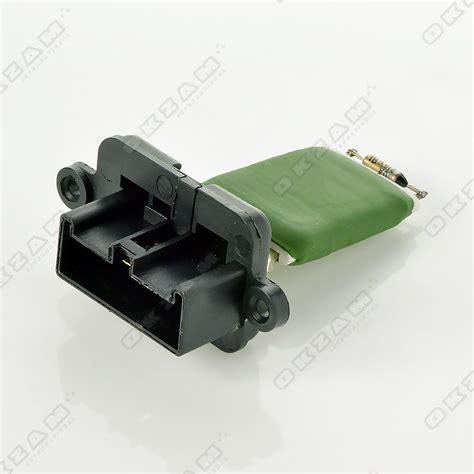 resistor on fan heater blower resistor motor fan for fiat panda 46723713 new ebay