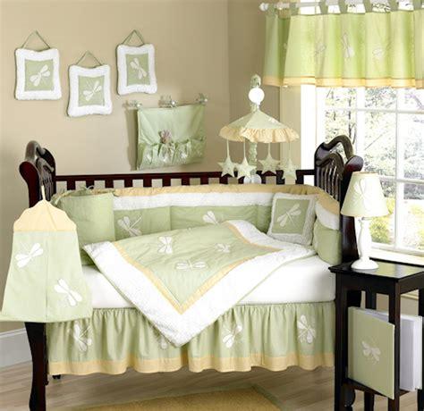 Dragonfly Crib Bedding Set by Green Chenille Dragonfly Baby Crib Bedding 9pc Nursery