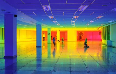 colour of 2016 artist liz west creates a rainbow at the bristol biennial