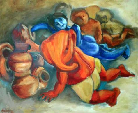 free painting for 2 buy contemporary painting govinda ganesh