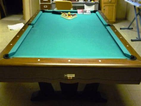Ati All Tech Industries 8 Pocket Pool Table 4 X7 1 2