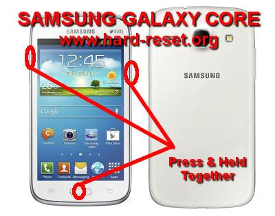 reset samsung core duos how to easily master format samsung galaxy core gt i8260