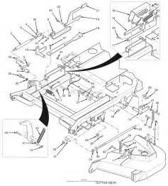 scag stt61v 27ka turf tiger s n d7600001 d7699999 parts diagram for cutter deck controls