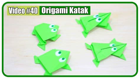 Katak Origami - katak origami choice image craft decoration ideas