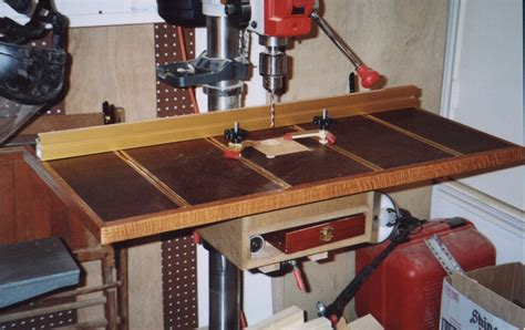 drill press table woodworking plans gds woodworking drill press table