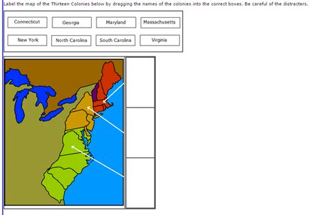 us states map quiz drag and drop drag drop map labeling questions for the 13 colonies u