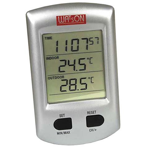 watson w 8684 inside outside temperature monitor