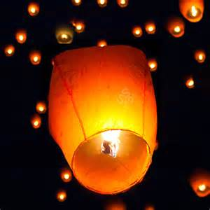 Genie Lamp History by Paper Floating Lantern Event Memorial Party Sky Flying