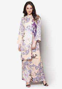 Set Rina Glw Setelan Kebaya Muslim Set Baju Batik Wanita baju kurung pahang search idea baju kurung kebaya and