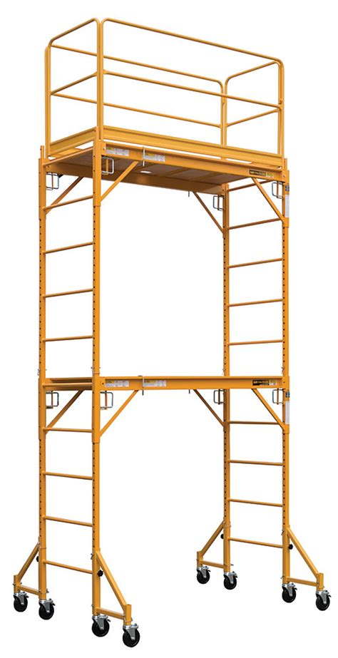 metaltech complete  feet high baker style scaffold tower