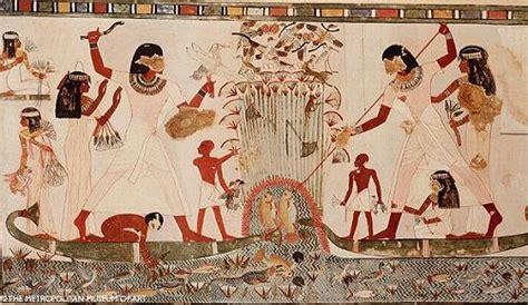los pjaros el arte conociendo mejor la pintura del antiguo egipto