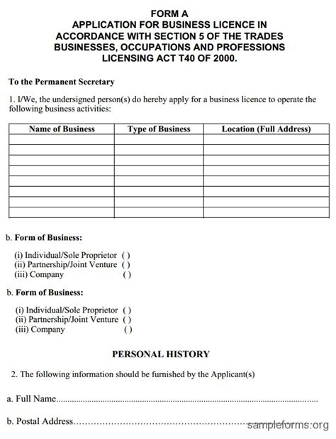 fake business license template ins ssrenterprises co