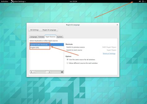 keyboard layout menu gnome how to get rid of the keyboard layout menu without