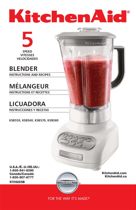 Blender Manual Blender Manual free pdf for kitchenaid ksb560 blender manual