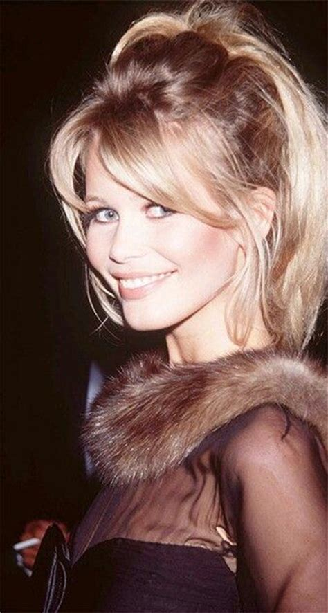 hairstyles for front cowlicks claudia shiffer 139 best images about claudia schiffer on pinterest