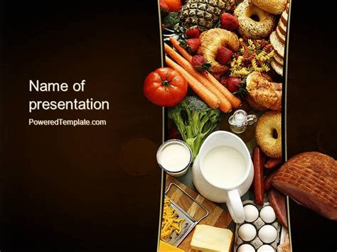 powerpoint food templates plenty of food powerpoint template authorstream