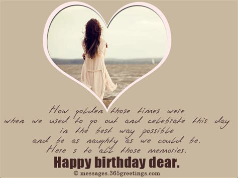 Happy Birthday Wishes To A Boyfriend Birthday Wishes For Ex Boyfriend 365greetings Com