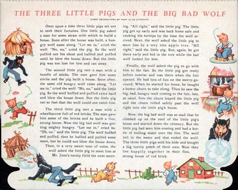 three story the three little pigs story pdf with pictures
