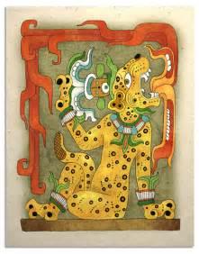 Mayan Jaguar God Ancient Mayan Jaguar God
