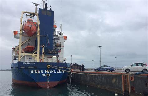 porto di corigliano esercitazione di security al porto di corigliano calabro