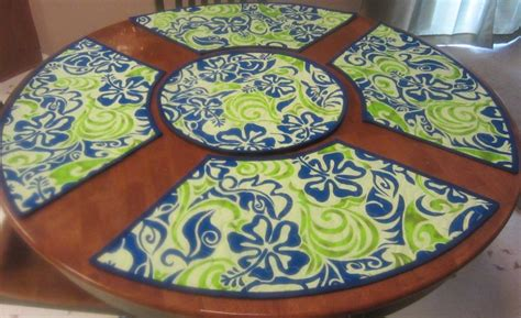 diy home decor how to make placemats and other easy merry go round by fivesons41079770 quilting pattern
