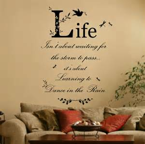 Tree Of Life Wall Sticker quotes about life and rain quotesgram