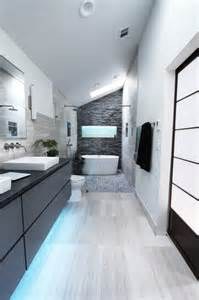 Houzz Bathroom Designs by Cool Gray Contemporary Bathroom Atlanta By Change