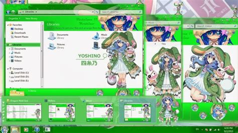 download theme windows 7 yoshino date a live theme win 7 yoshino date a live
