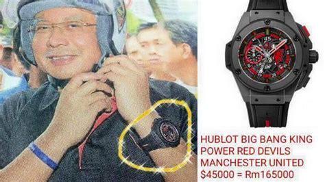 Jam Tangan Tissot Najib selepas isu beg birkin koleksi jam tangan mewah ds rosmah