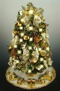 Decorated Miniature Christmas Trees - decorated mini tabletop christmas tree by christmastreesnmore