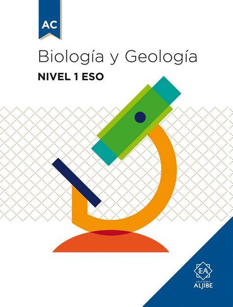 biologa y geologa 1 biolog 237 a y geolog 237 a nivel 1 eso