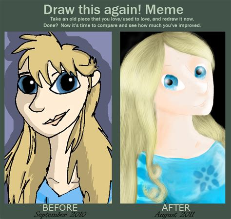 Draw It Again Meme - draw it again meme by bluefluffydinosaur on deviantart