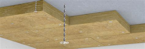 Concrete Ceiling Insulation by Fixing Insulation To Concrete Soffits Thor Helical Wall Ties Helical Bars Insulation
