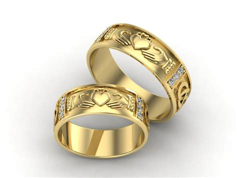 Free Online Cad Home Design by 3d Jewelry Design Claddagh Wedding Ring 92680 187 Jewelrythis