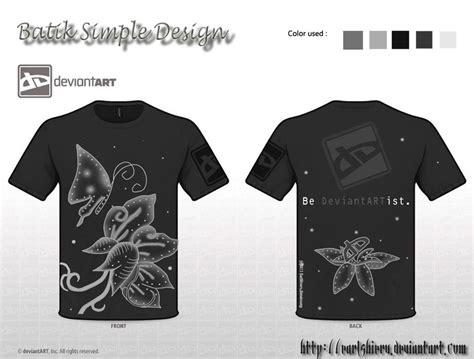 batik t shirt design batik simple design by earlshieru on deviantart