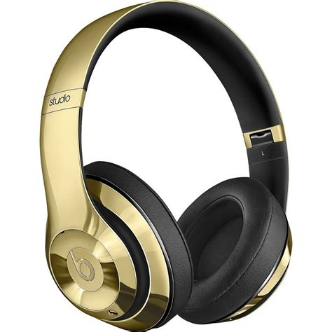Beats Co by Beats By Dre Limited Edition Gloss Gold Headphones And