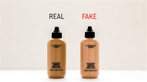 Foundation Mac Original how to spot mac makeup