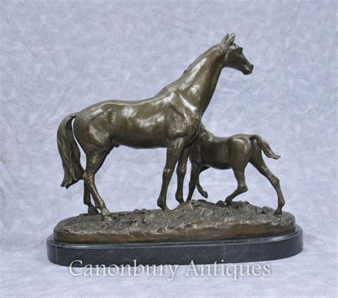 Use Mene - bronze pj mene horse foal pony french statue signed ebay