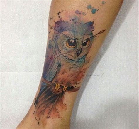 do watercolor tattoos fade quickly 100 owl healing process fibonacci