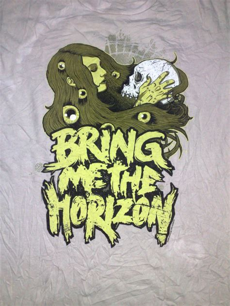 Tshirt Bring Me The Horizon 013 anak liar rocks bring me the horizon band t shirt sold