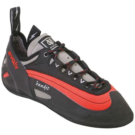 climbing shoes evolv evolv s bandit climbing shoe moosejaw