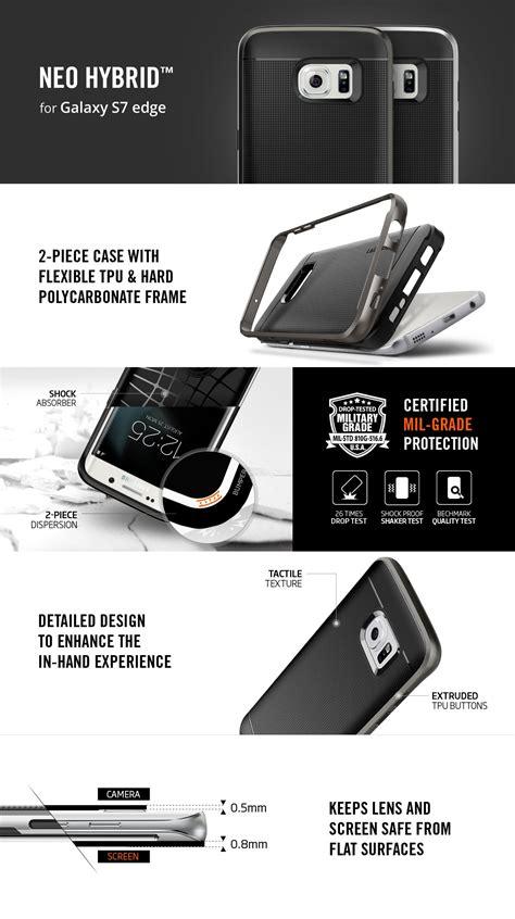 Jual Spigen For Galaxy S7 Edge Neo Hybrid Gunmetal Baru Cas jual spigen neo hybrid galaxy s7 edge