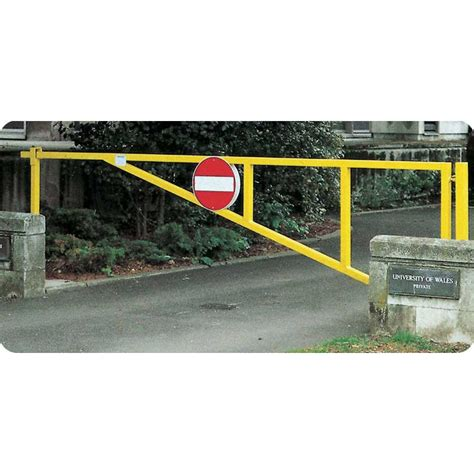 manual swing arm gate puma manual swing barrier gates for car parks access