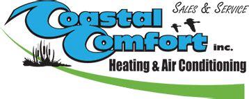 coastal comfort inc hvac service repair coastal comfort de md