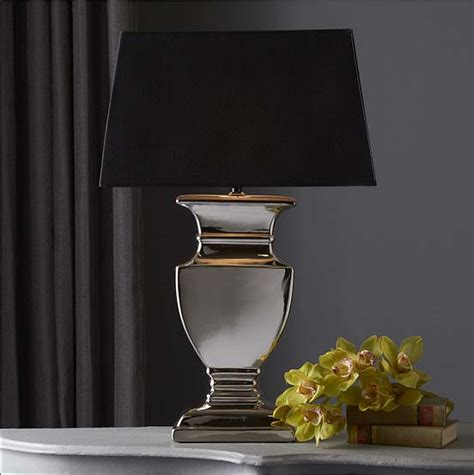 Tozai Home Decor by Tozai Home Urn Silver Lamp