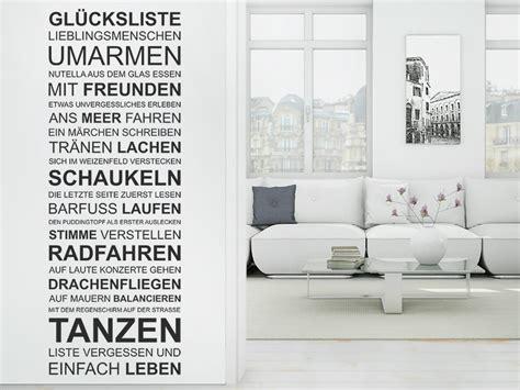 Wohnzimmer In Grau 4359 by Wandtattoo Gl 252 Cksliste F 252 R Lieblingsmenschen Wandtattoos De