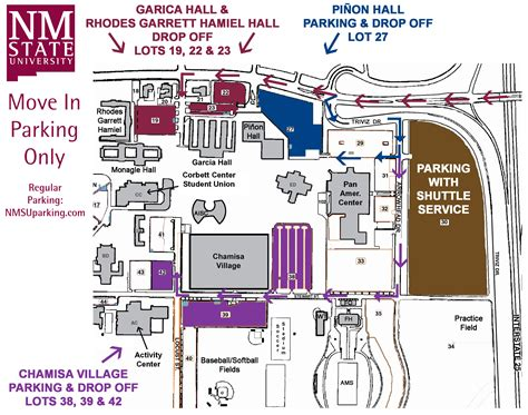 nmsu map visitor parking information nmsu transportation parking services new mexico state